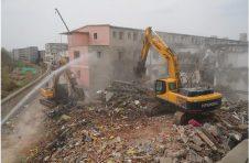北京朝阳区广渠路27栋出租公寓拆除,将建休闲文化广场